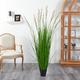 5.5' Plum Grass Artificial Plant
