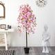 5' Cherry Blossom Artificial Tree