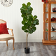 5.5' Fiddle Leaf Fig Artificial Tree