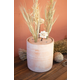 Clay Canister Stem Holder