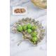 Gold Aluminum Leaf Decorative Plate