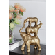 Stacking Animals Decorative Statue