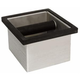 Rattleware Brushed Stainless Steel Knockbox with Rubber Bumper