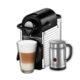 Nespresso Pixie Espresso Capsule Machine and Aeroccino Bundle - Chrome