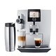 Jura Impressa J9 One Touch TFT Automatic Coffee Machine - Silver - Open Box