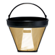 Cilio 23 Karat Gold Plated #4 Cone Coffee Filter