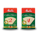 Melitta Natural Brown Cone Coffee Filters