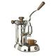 La Pavoni Stradivari Manual Espresso Machine - Wood & Chrome - PSW-16 - Open Box