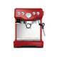 Breville Infuser Espresso Machine BES840BSXL - Cranberry - Open Box