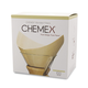 Chemex Pre-Folded Square Filter - Natural