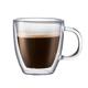 Bodum Bistro Double Wall Coffee Mugs - 10 oz