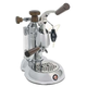 La Pavoni Stradivari Manual Espresso Machine - Wood & Chrome - ESW-8