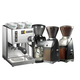 Rancilio Silvia Espresso Machine and Baratza Grinder Package