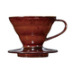 Hario Coffee Dripper V60 - Chocolate Ceramic - Small - 01
