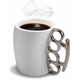 Fred & Friends Fisticup-Knuckleduster Mug