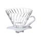 Hario Coffee Dripper V60 - White Glass