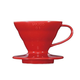 Hario Coffee Dripper V60 - Red Ceramic