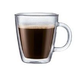 Bodum Bistro Double Wall Coffee Mugs - 10 or 15 ounces