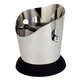 Heavy Duty Stainless Steel Knockbox - Round with Rubber Base