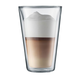 Bodum Canteen Double Wall Glasses - 13.5 ounces - Set of Two