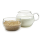 Adagio Teas Creamer and Sugar Bowl Set