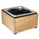 Rattleware Maple Hardwood Knockbox with Stainless Insert