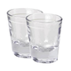 Heavy Shot Glasses with Line 1.25 oz - Set of 2