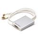 Monoprice Mini DisplayPort   Thunderbolt + USB to Dual-Link DVI Adapter