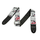 2-inch Guitar Strap - Synthetic Leather with Leather Ends - British Design