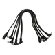 Monoprice 8-Head Multi-Plug Daisy-Chain Cable for Guitar Pedal Power Adapters