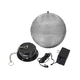 Stage Right 10-inch Mirror Ball & Motor with LED Lights