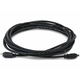 IEEE-1394 FireWire i.LINK DV Cable 4P-4P M/M - 15ft (BLACK)