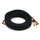 RCA Coaxial Composite Video and Stereo Audio Cable, 25ft