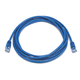 Cat5e 24AWG UTP Ethernet Network Patch Cable, 7ft Blue