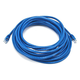 Cat5e 24AWG UTP Ethernet Network Patch Cable, 25ft Blue