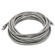 Cat5e 24AWG UTP Ethernet Network Patch Cable, 25ft Gray