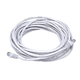 Cat5e 24AWG UTP Ethernet Network Patch Cable, 25ft White