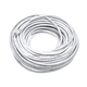 Cat5e 24AWG UTP Ethernet Network Patch Cable, 100ft White