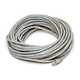 50FT 24AWG Cat5e 350MHz UTP Crossover Bare Copper Ethernet Network Cable - Gray