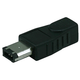 IEEE 1394 6M/4F Adaptor