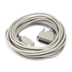 25ft AT Modem DB9F/DB25M Molded Cable