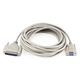 25ft Null Modem DB9F/DB25M Molded Cable
