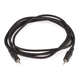 Monoprice 6ft 3.5mm Stereo Plug/Plug M/M Cable - Black