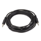 Monoprice 12ft 3.5mm Stereo Plug/Plug M/M Cable - Black