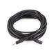 Monoprice 25ft 3.5mm Stereo Plug/Jack M/F Cable - Black