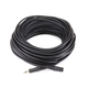 75ft 3.5mm Stereo Plug/Jack M/F Cable - Black