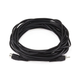 25ft RCA Plug/Jack M/F Cable - Black
