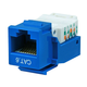 Cat6 RJ-45 Toolless Keystone - Blue