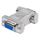 DB9, M/F, Null Modem Adapter