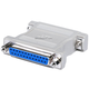 DB25, M/F, Null Modem Adapter